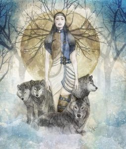 Wild Woman & Wolves